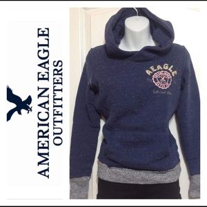 AMERICAN EAGLE OUTFITTERS Hooded Sweater